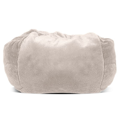 - Plush Faux Fur Pet Ball Bed in Blush FUR HAVEN NEW ARRIVAL