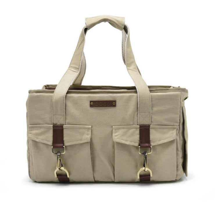 - Buckle Tote Bb Beige Dog Carrier Tote Dogo New Arrival