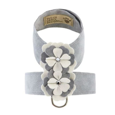Platinum Special Occasion Ultrasuede Tinkie Flower Harness