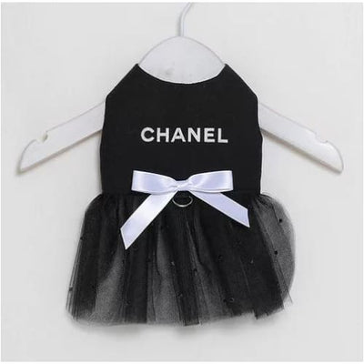 Chanel Tutu Dress with White Bow NEW ARRIVAL