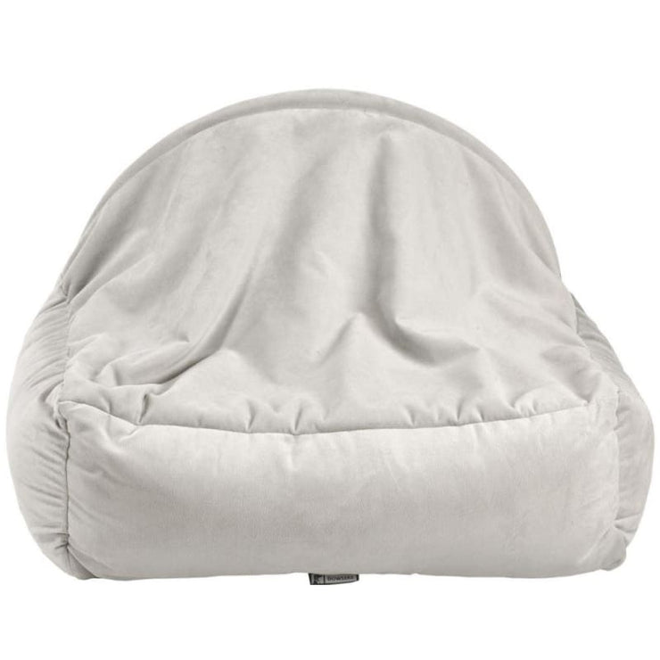 Microvelvet Canopy Dog Bed in Cloud NEW ARRIVAL