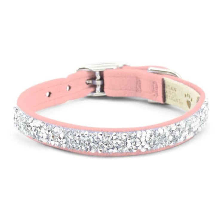Ultrasuede Crystal Rocks Collar MORE COLOR OPTIONS, NEW ARRIVAL
