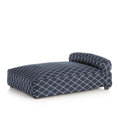 - Club Nine Pets Orthopedic Contempo Slipcover Dog Bed Navy NEW ARRIVAL