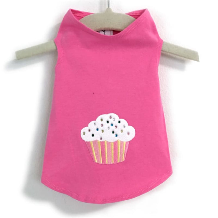 - Cupcake & Sprinkles Dog Tank Tops NEW ARRIVAL TANK TOP