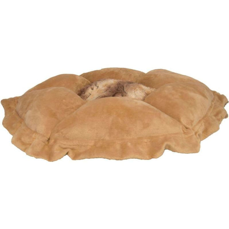 - Divine Caramel and Simba Cuddle Pod burrow beds for dogs dog nest dog snuggle beds
