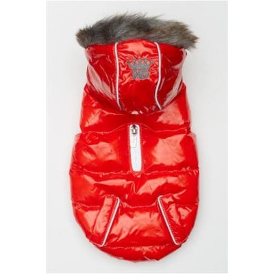 Fiery Red Elite Reflective Puffer Coat clothes for small dogs, COATS, cute dog apparel, cute dog clothes, dog apparel