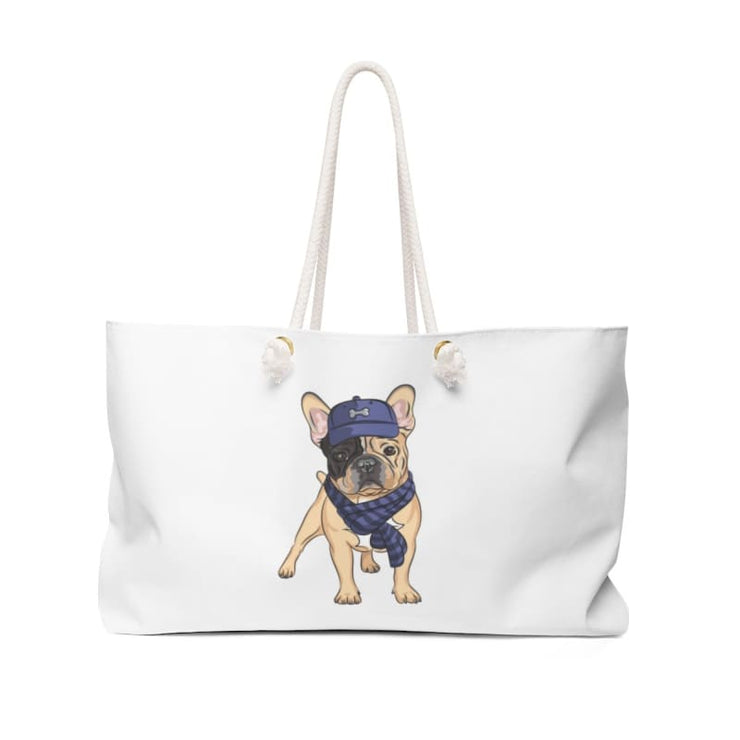 - Ruff Houzin® Frenchie Weekender Bag Bags Accessories All Over Print Bags Totes