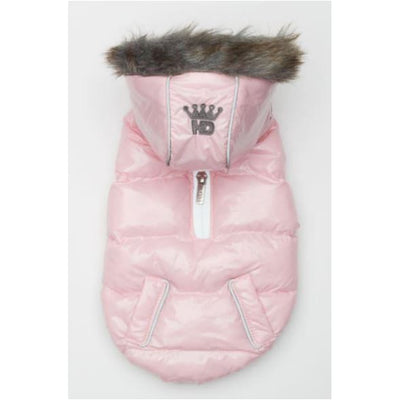 Ice Pink Elite Reflective Puffer Coat clothes for small dogs, COATS, cute dog apparel, cute dog clothes, dog apparel