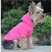 - Flex-Fit Dog Hoodie Pink NEW ARRIVAL