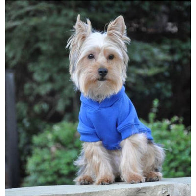 - Flex-Fit Dog Hoodie Blue NEW ARRIVAL