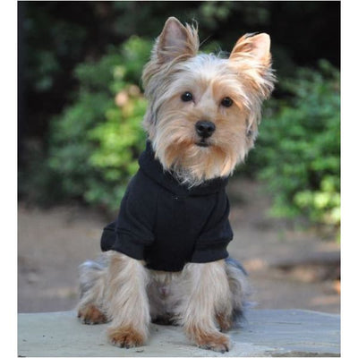 - Flex-Fit Dog Hoodie Black NEW ARRIVAL