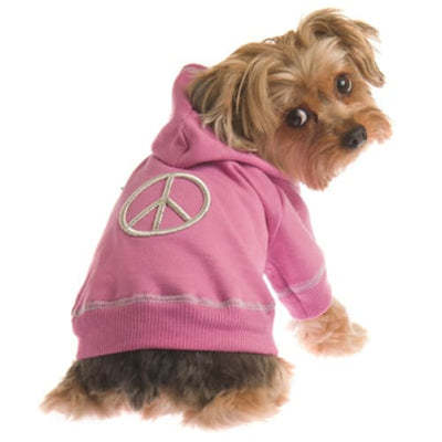 - Groovy Orchid Dog Hoodie Ruff Luv