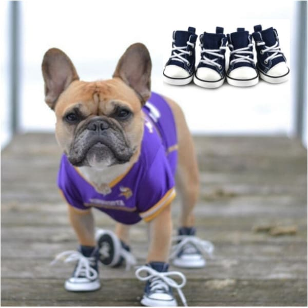 - Hip Dog High Top Dog Sneakers APPAREL boots for dogs clothes for small dogs cute dog apparel cute dog clothes dog apparel