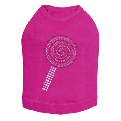 Lollipop Tank Top clothes for small dogs, cute dog apparel, cute dog clothes, dog apparel, dog in the closet