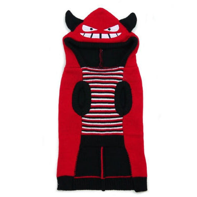 Little Devil Hooded Sweater APPAREL clothes for small dogs, cute dog apparel, cute dog clothes, dog apparel, dog hoodies