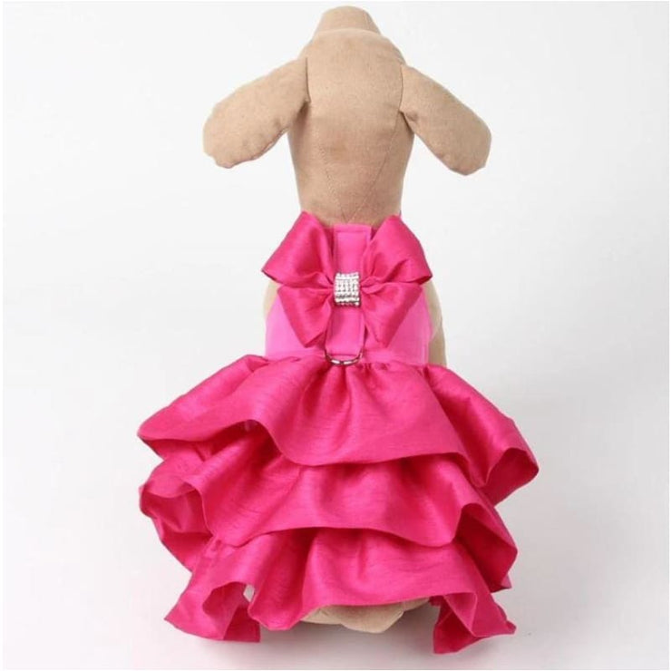 Madison Dog Dress in Pink Sapphire NEW ARRIVAL