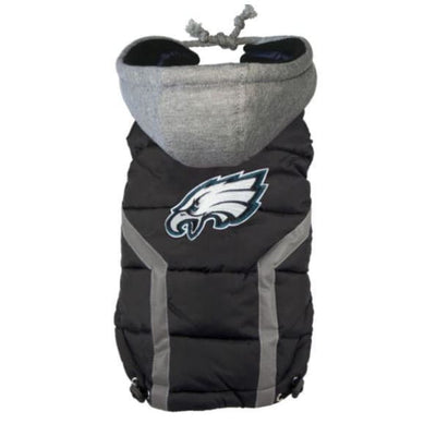 NFL Philadelphia Eagles Dog Puffer Vest NEW ARRIVAL