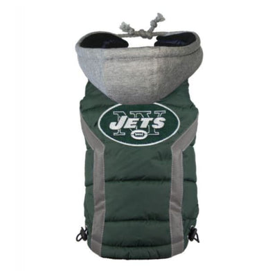 NFL New York Jets Dog Puffer Vest NEW ARRIVAL