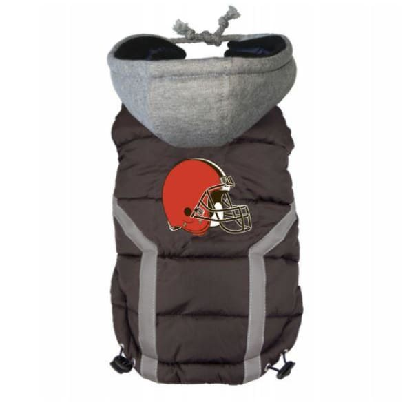 NFL Cleveland Browns Dog Puffer Vest NEW ARRIVAL