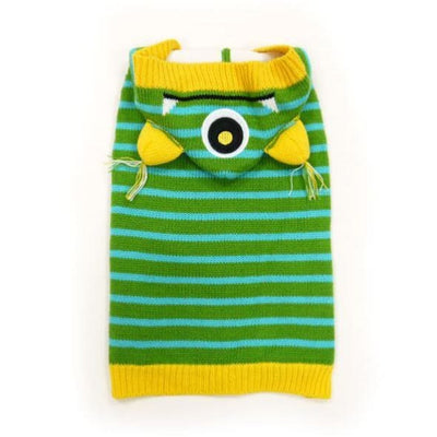 One Eye Monster Hooded Sweater APPAREL clothes for small dogs, cute dog apparel, cute dog clothes, dog apparel, dog hoodies
