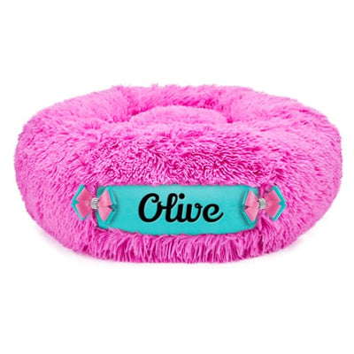 Perfect Pink & Bimini Blue Customizable Dog Bed NEW ARRIVAL