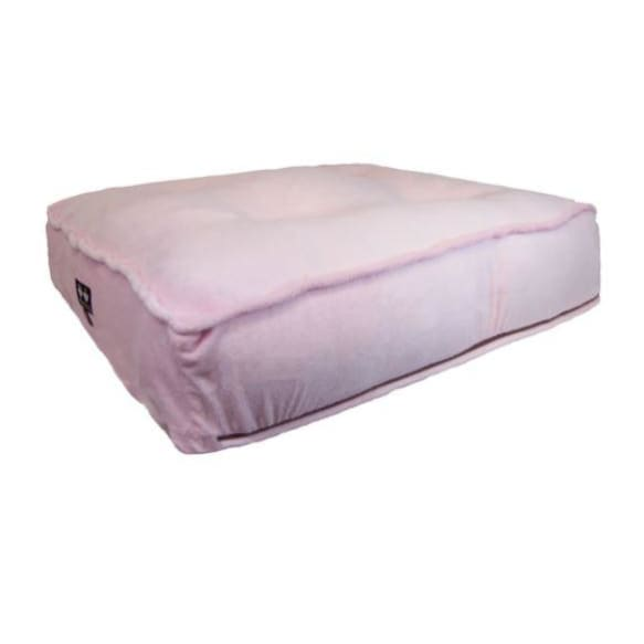 Sicilian Rectangle Bed in Pink Lotus BEDS, bolster dog beds, NEW ARRIVAL, rectangle dog beds
