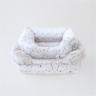 Prism Deluxe Dog Bed Pearl Leopard NEW ARRIVAL