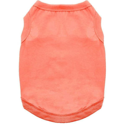 - Copy of 100% Cotton Dog Tank Top in Coral NEW ARRIVAL