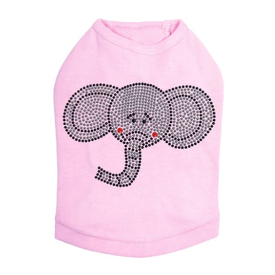 - Elephant Face Dog Tank Top New Arrival