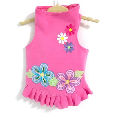 Flower Power Dog Flounce Dress MORE COLOR OPTIONS