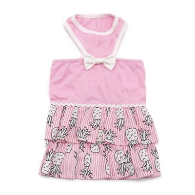 - Dogo Pineapple Dog Dress Coats Dresses New Arrival