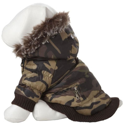 - Camo 3M Insulated Dog Parka NEW ARRIVAL PET LIFE