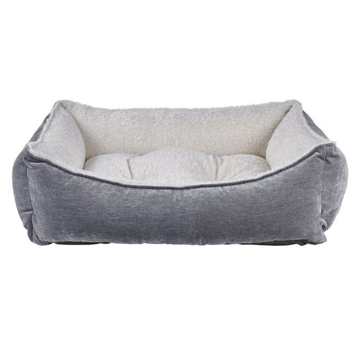 - Pumice Microvelvet Scoop Dog Bed NEW ARRIVAL
