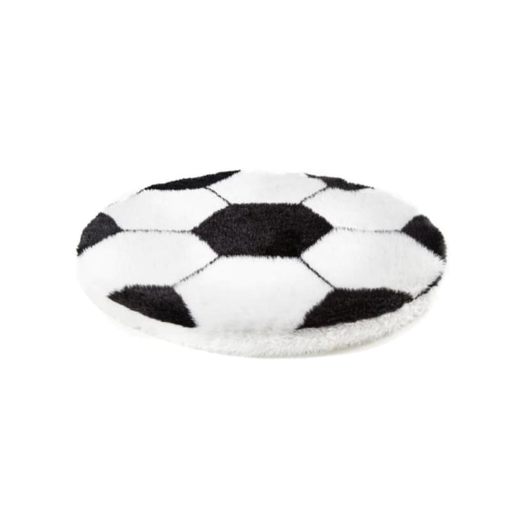 Canvas Hex Cushion Dog Bed in Stone NEW ARRIVAL