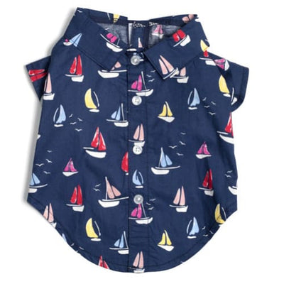 - Worthy Sailboats Dog Shirt New Arrival Worthy Dog