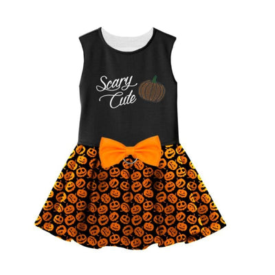 Halloween Scary Cute Harness Dress With Matching Leash clothes for small dogs, cute dog apparel, cute dog clothes, cute dog dresses, dog