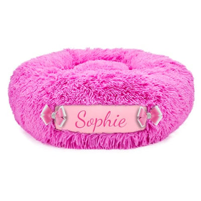 Perfect Pink & Puppy Pink Customizable Dog Bed NEW ARRIVAL