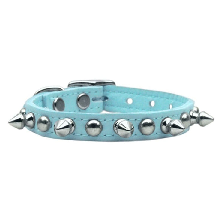 - Genuine Leather Spikes Dog Collar Mirage New Arrival