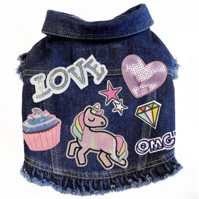 Love Unicorns Denim Jacket NEW ARRIVAL