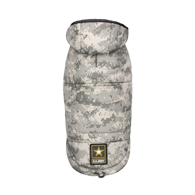 US ARMY Camo Dog Parka NEW ARRIVAL