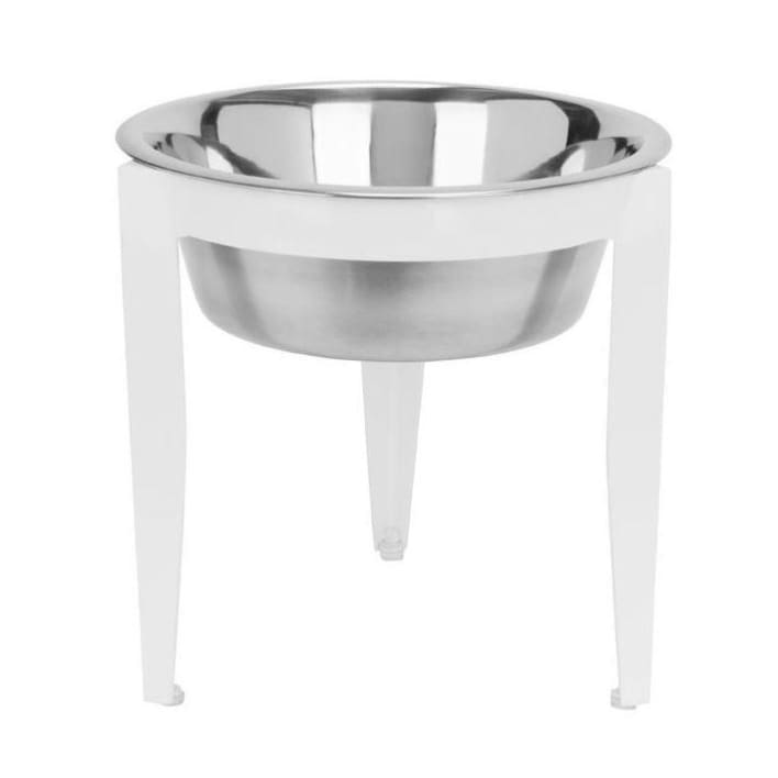 - Vision Indoor Outdoor Single Diner Raised Dog Feeder White NEW ARRIVAL