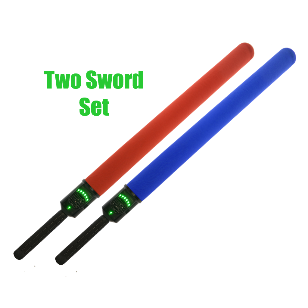 Sabertron One -- Two Sword Set