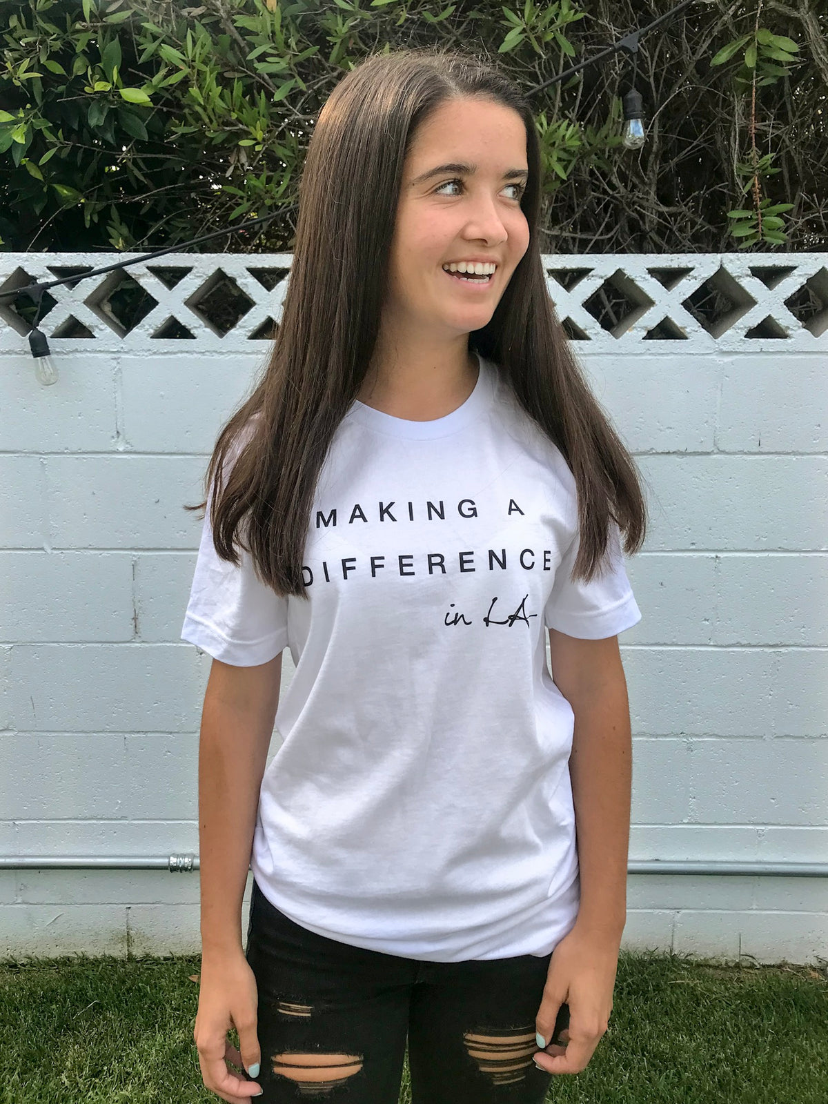 Making A Difference Shirt