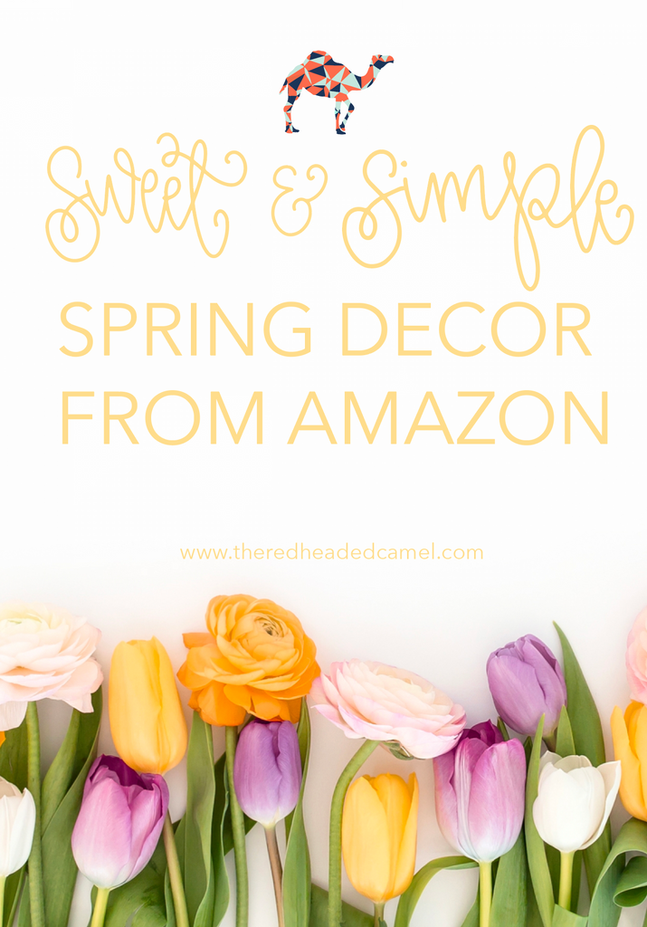 aa788da9c Sweet and Simple Spring Decor finds from Amazon and Kirkland s ...