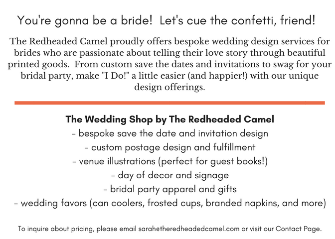 The Wedding Shop by The Redheaded Camel