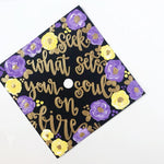 Custom Hand Painted Graduation Cap Topper