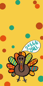 Gobble Phone Background Freebie