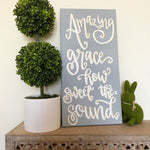 Amazing Grace 10 x 20 Painting