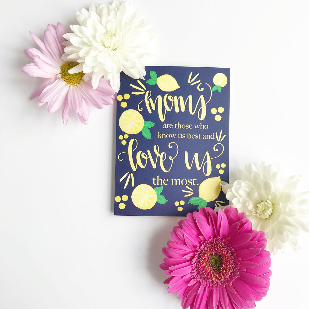 2018 Mother's Day Card