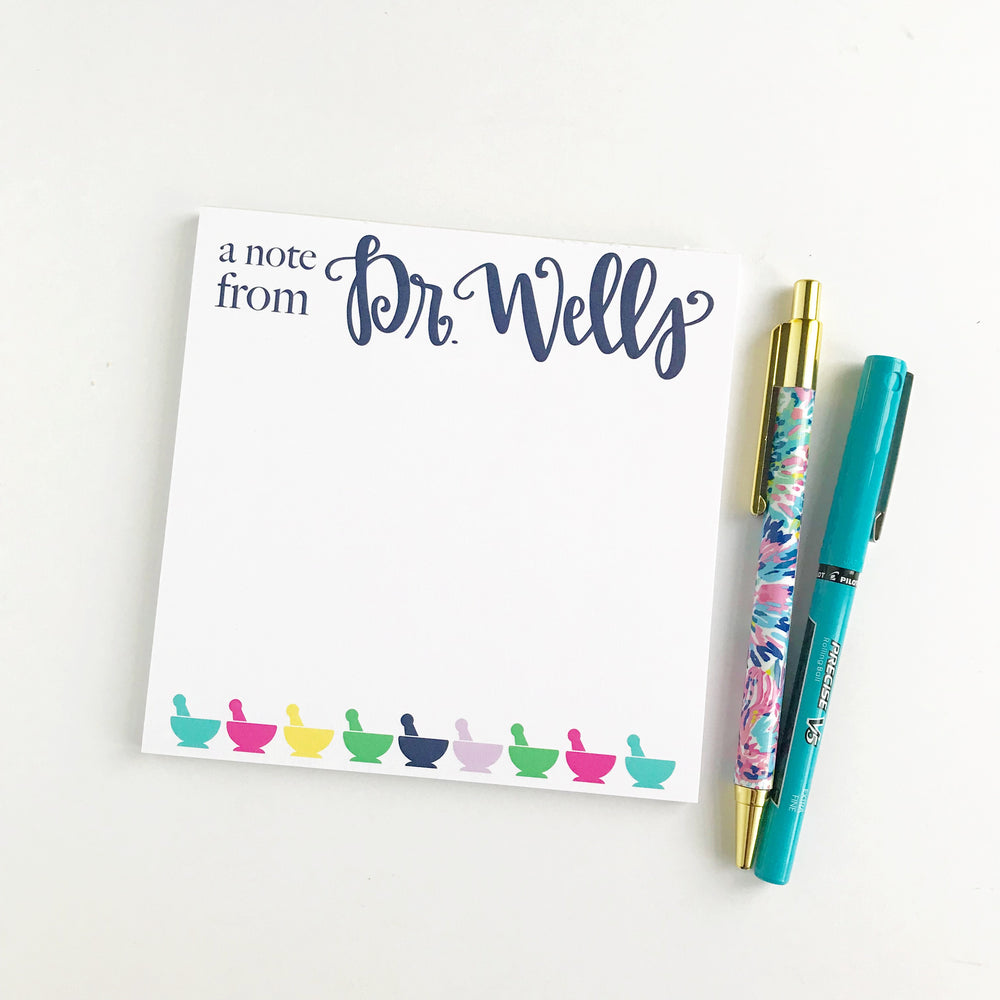 Personalized Pharmacist Notepad